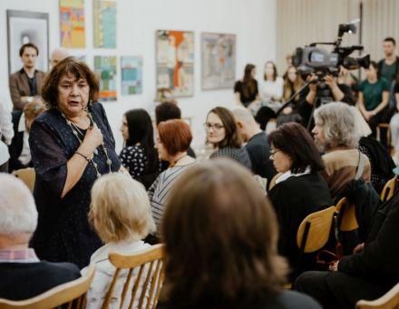 Spotkanie z Mirą Ledowską