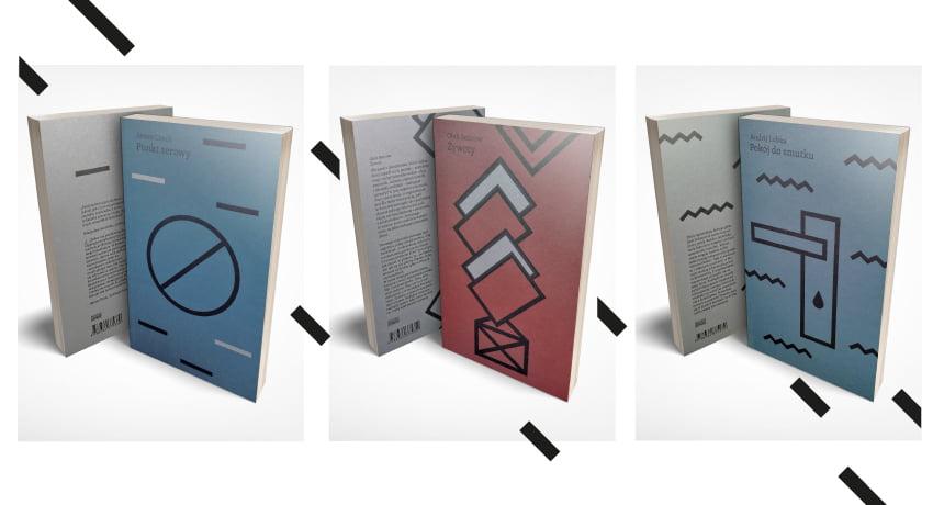 książki z serii Wschodni Express - Punkt Zerowy Artema Czecha, Żywoty Oleha Sencowa i Pokój do Smutku Andrija Lubki