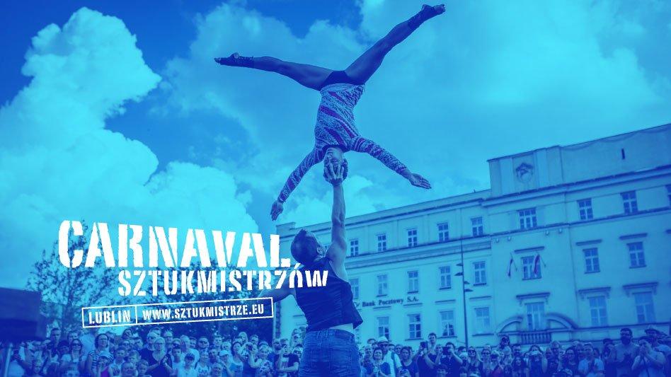 Fotografia Carnaval Sztukmistrzów z logotypem