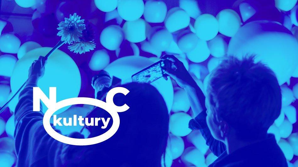 Fotografia Noc Kultury z logotypem