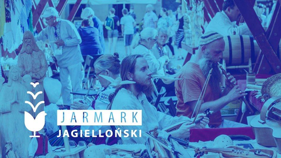 Fotografia Jarmark Jagielloński z logotypem
